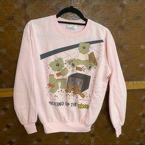 Reese's Pieces Bears Vintage 80s Sweatshirt 1987